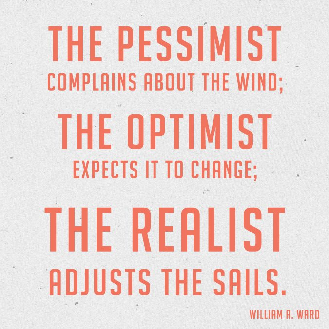 Why your Boss wants you to be an Optimistic Realist!